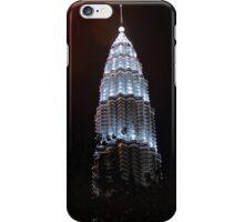 Silver Glow at Night III - Kuala Lumpur, Malaysia. iPhone Case/Skin