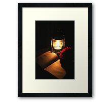 Magical night... Framed Print