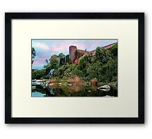 """""""The Old Papermill"""" 2 Framed Print"""
