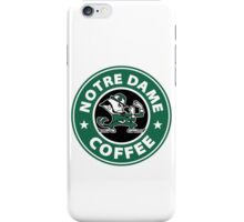 Notre Dame Coffee iPhone Case/Skin