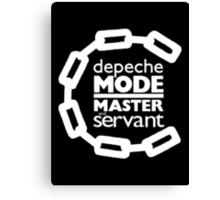 Depeche Mode : Master And Servant - White Canvas Print