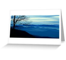 The Blue Ridge Mountains Greeting Card