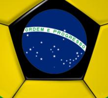 Brazil - Brazilian Flag - Football or Soccer Sticker