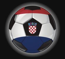 Croatia - Croatian Flag - Football or Soccer Kids Clothes