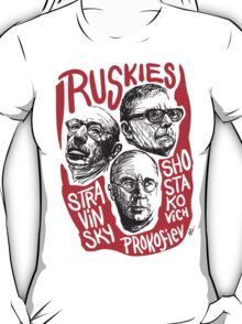 Ruskies-Russian Composers T-Shirt