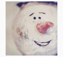 Happy Snow, Man Fine Art Photography T-Shirt