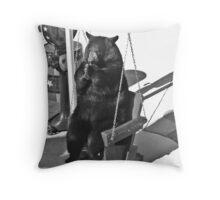 Bear Chair Throw Pillow