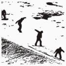 Snowboard - Landing by MikeBJ