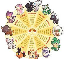 zpdiac calendar pokemon 5th gen by pokemonequisde