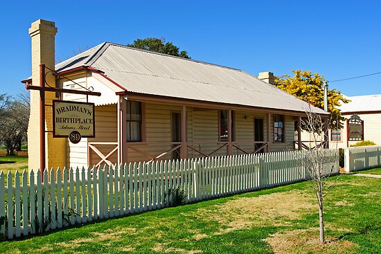 Bradman's Birthplace by Darren Stones