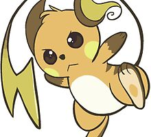 raichu kawaii design by pokemonmaster89