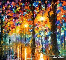 Trees Of Magic — Buy Now Link - www.etsy.com/listing/212061490 by Leonid  Afremov