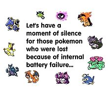 a minute of silence pokemons by poketrainer777