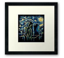 Starling Night (Arrow & Van Gogh) Framed Print