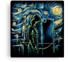 Starling Night (Arrow & Van Gogh) Canvas Print