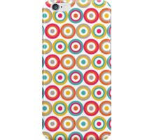 Abstract Bulls Eye Circles Pattern iPhone Case/Skin