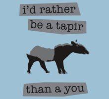 I'd rather be a tapir by ArtbyCowboy