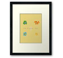 the original four Framed Print