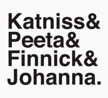 Katniss & Peeta & Finnick & Johanna. Kids Clothes