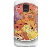 eeve's evolutions in a pokeball Samsung Galaxy Case/Skin