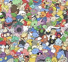 many pokemons funny poster by pokemonlover89