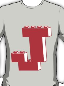 THE LETTER J, Customize My Minifig T-Shirt
