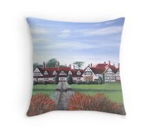 "The Petwood Hotel, Woodhall Spa, Lincolnshire, England - ""Home of the Dambusters"" Throw Pillow"