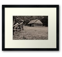 Jim Bales Barn Framed Print
