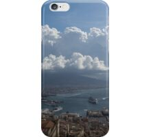 Cruising Into the Port of Naples, Italy iPhone Case/Skin