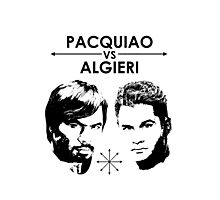 Pacquiao Vs Algieri Photographic Print