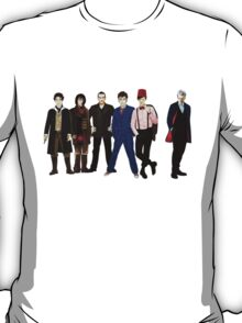 Doctor Who - The Six Doctors T-Shirt