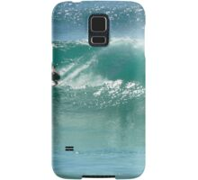 Surfing at Burleigh Heads #4 Samsung Galaxy Case/Skin