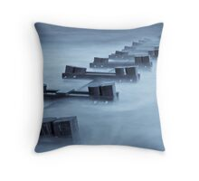 A Flow of Time Throw Pillow