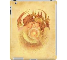 """""""The Beginning"""" from """"Love Angels"""" series iPad Case/Skin"""