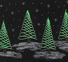 Winter Trees by TangleCrazed