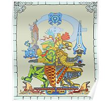 Mayan Chief Poster