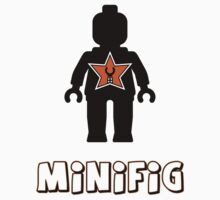 Minifig [Black], Customize My Minifig Star Logo by ChilleeW