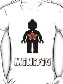 Minifig [Black], Customize My Minifig Star Logo T-Shirt