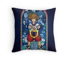 Light in the Deepest Darkness Throw Pillow