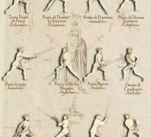 "Longsword Positions - Fiore dei Liberi ""Getty"" by Tracy Mellow"
