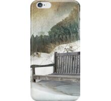 Sanctuary in White iPhone Case/Skin