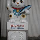 Good luck cat (bad luck fish) - Matsuyama by Trishy