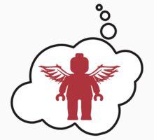 Minifig Angel, Bubble-Tees.com by Bubble-Tees