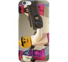 Halo Wars Pink Spartan Soldier Custom Minifigure iPhone Case/Skin