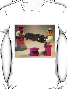 Halo Wars Pink Spartan Soldier Custom Minifigure T-Shirt