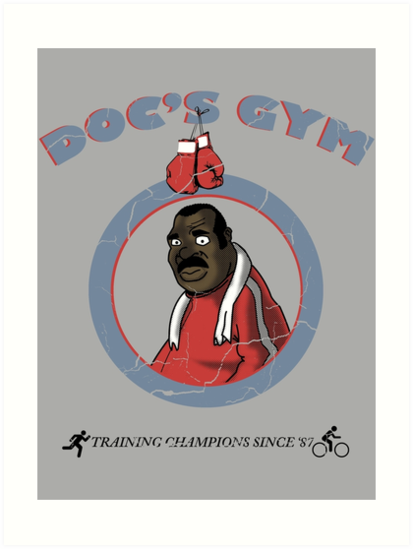 Training Time at Doc's Gym by danobanano