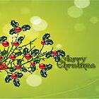 Holly Branch by Jandzart013