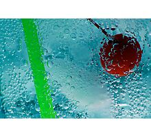 Ice Cold Drink Photographic Print
