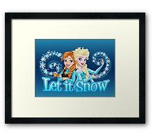 Let it Snow Framed Print