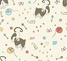 showshoe cat collection set by Tin0Tin